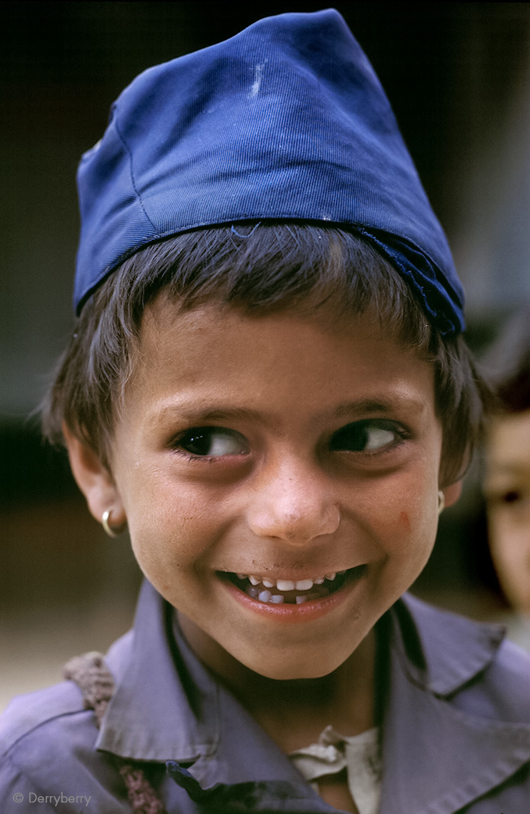 Boy from Naudanda, Nepal 1986